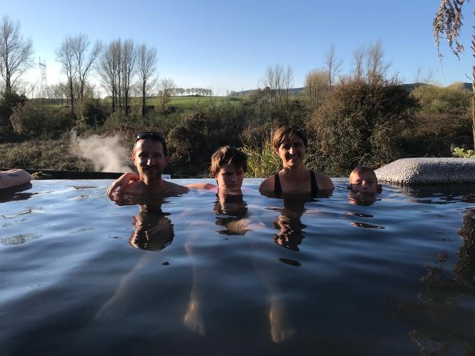 bassin chaud Rotorua