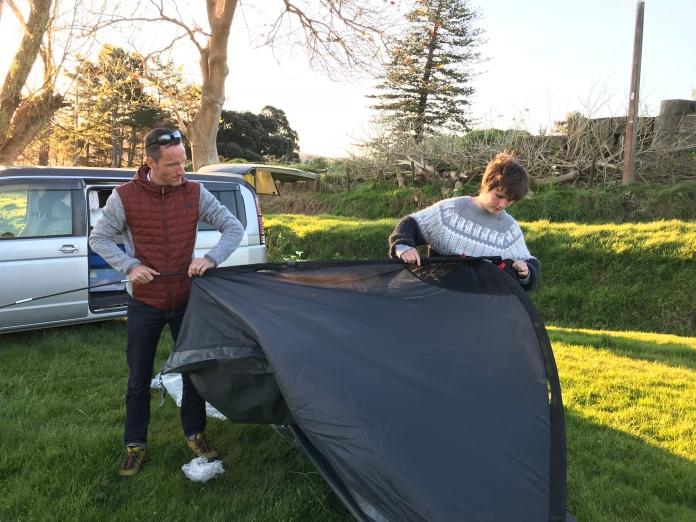 montage tente NZ
