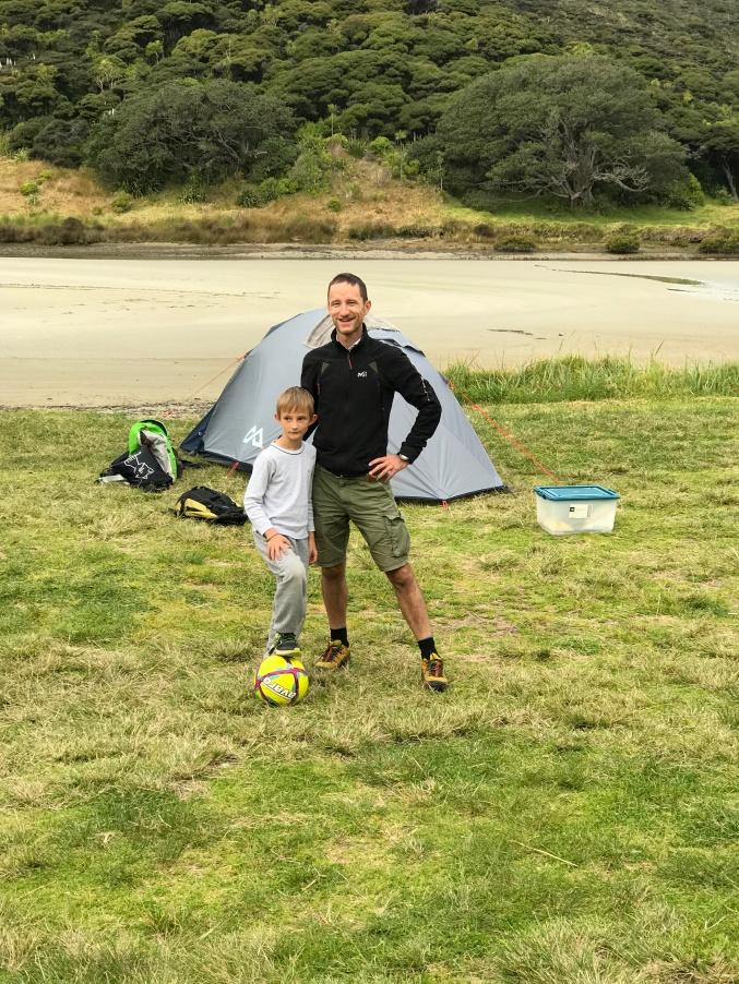 partie foot camping NZ