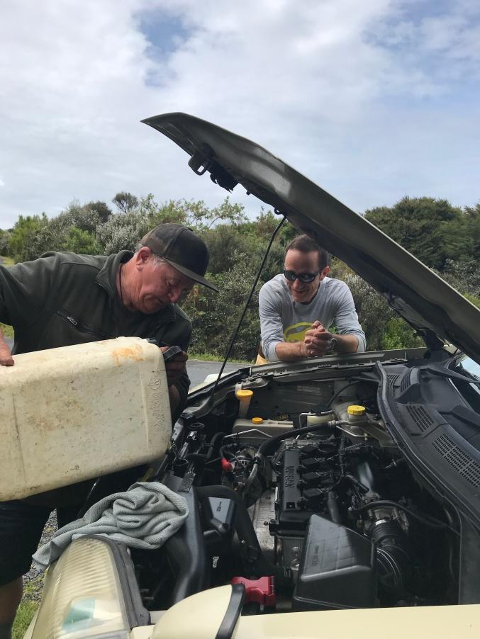 eau voiture NZ