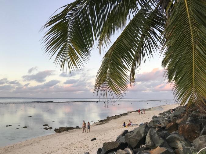 paysage plage NZ